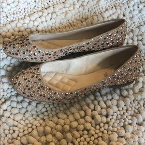 Gentle worn Vince Camuto shoes